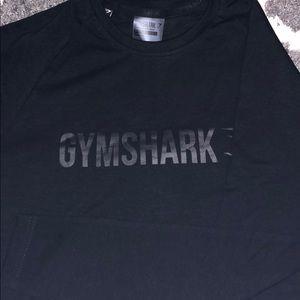 Long sleeve gym shark shirt